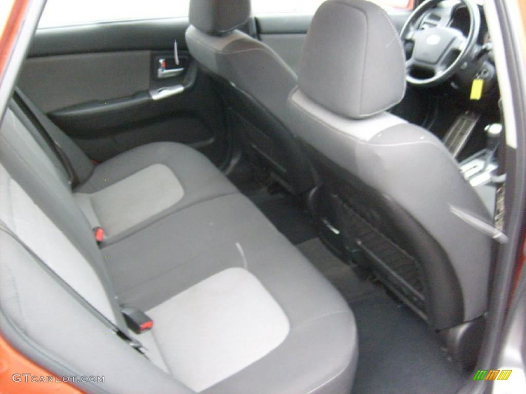 black interior 2007 kia spectra spectra5 sx wagon photo. Black Bedroom Furniture Sets. Home Design Ideas