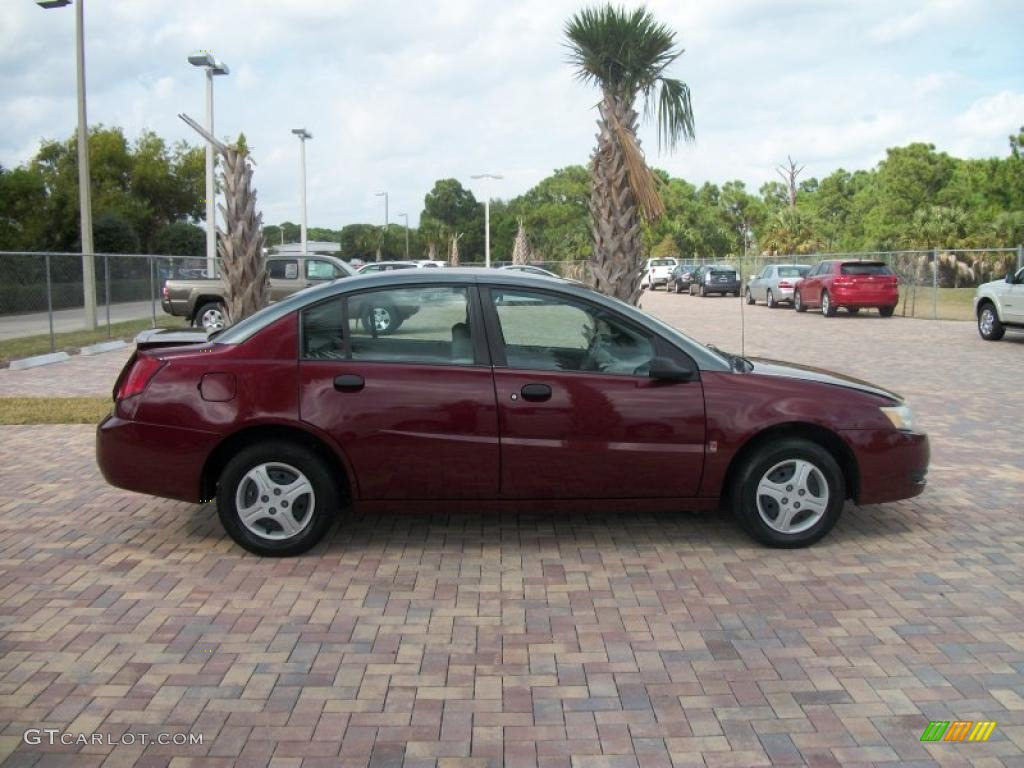 2003 Cranberry Saturn Ion 1 Sedan 42753260 Photo 5