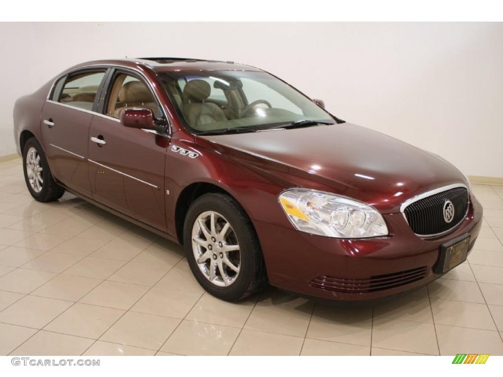 2006 Dark Garnet Red Metallic Buick Lucerne Cxl 42809544