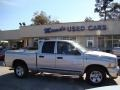2002 Bright Silver Metallic Dodge Ram 1500 ST Quad Cab  photo #1