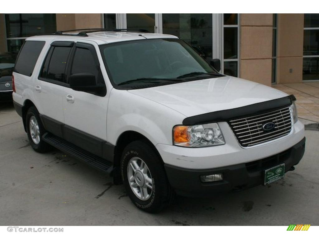 oxford white 2004 ford expedition xlt 4x4 exterior photo. Black Bedroom Furniture Sets. Home Design Ideas