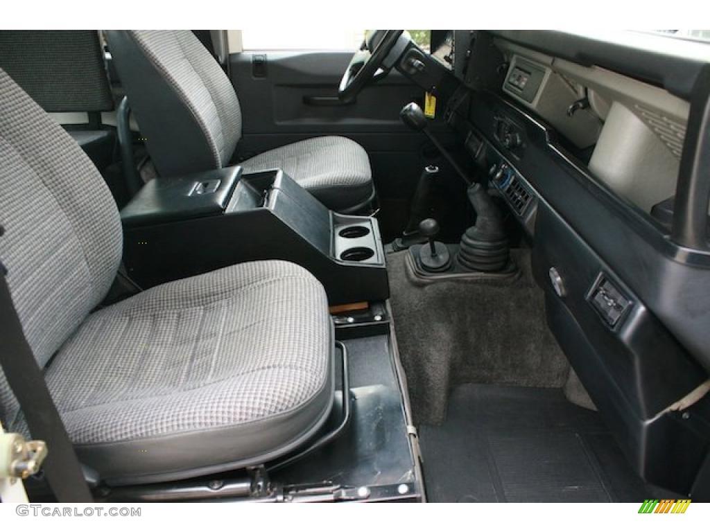 1995 Land Rover Defender 90 Hardtop Interior Photo