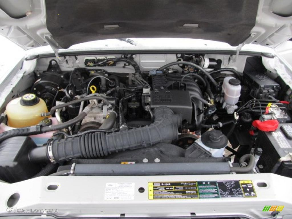 2008 ford ranger xl supercab 2 3 liter dohc 16v duratec 4 cylinder engine photo 42827866