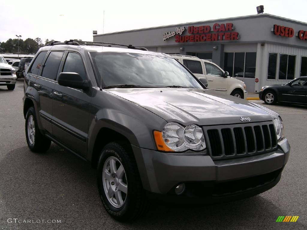 2008 mineral gray metallic jeep grand cherokee laredo 4276147 car color galleries. Black Bedroom Furniture Sets. Home Design Ideas