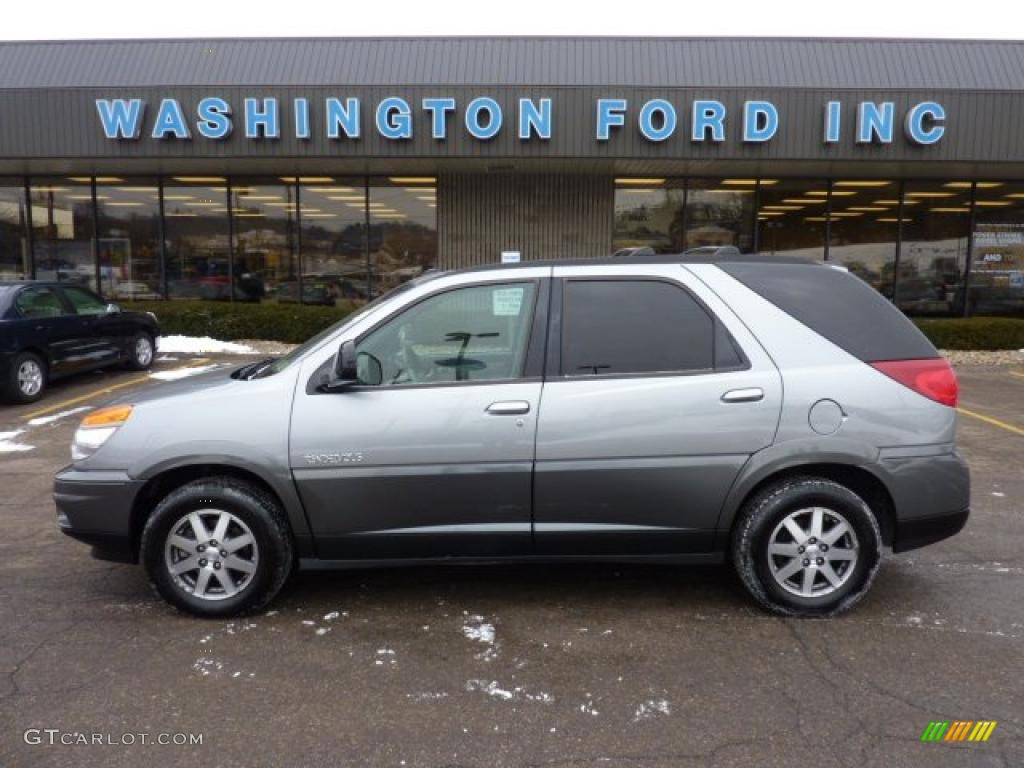 2003 Light Spiral Gray Metallic Buick Rendezvous Cx Awd