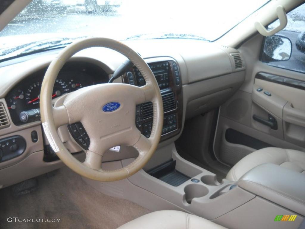 Medium Parchment Interior 2005 Ford Explorer Limited 4x4 Photo