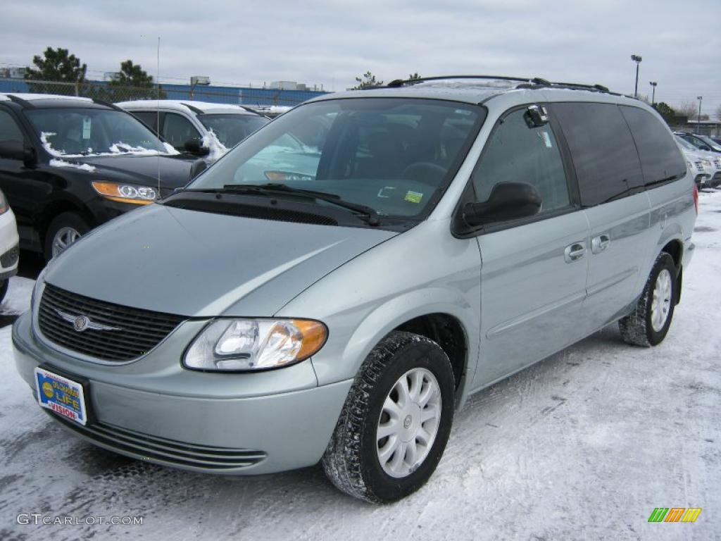 2003 satin jade pearl chrysler town country lx 42809773. Black Bedroom Furniture Sets. Home Design Ideas
