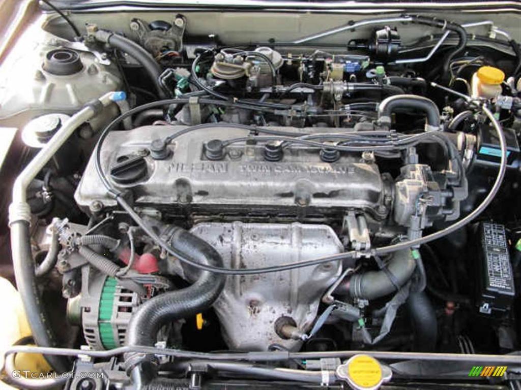1998 nissan altima xe 2 4 liter dohc 16 valve 4 cylinder for Nissan altima 2001 motor