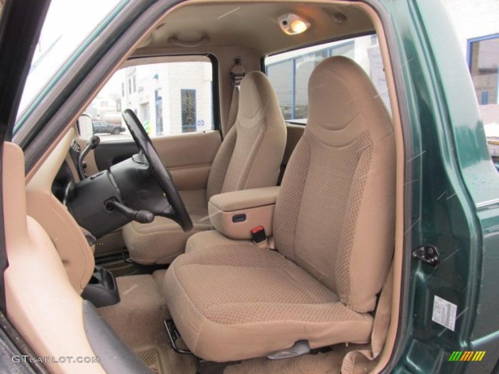 Medium prairie tan interior 1999 ford ranger sport regular cab 4x4 photo 42838746