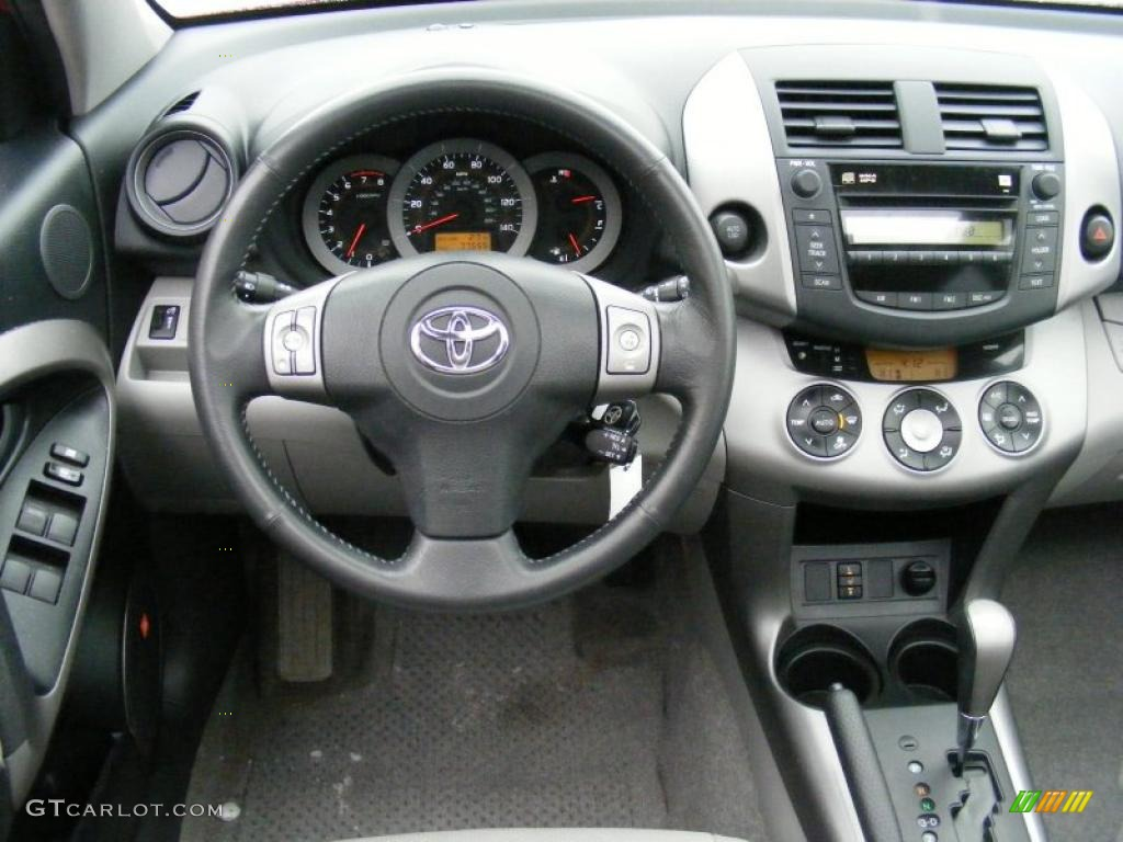 2007 Toyota Rav4 Limited Ash Gray Dashboard Photo