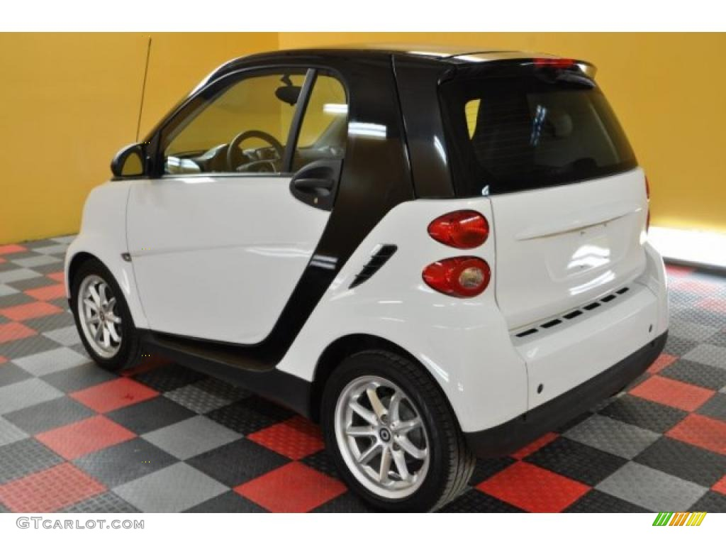 2009 crystal white smart fortwo passion coupe 42809445 photo 3 car color. Black Bedroom Furniture Sets. Home Design Ideas