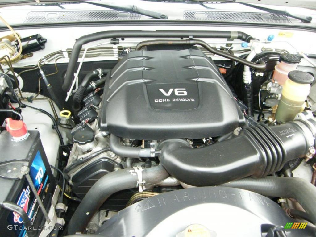 2002 Isuzu Rodeo LSE 3 2 Liter DOHC 24-Valve V6 Engine Photo