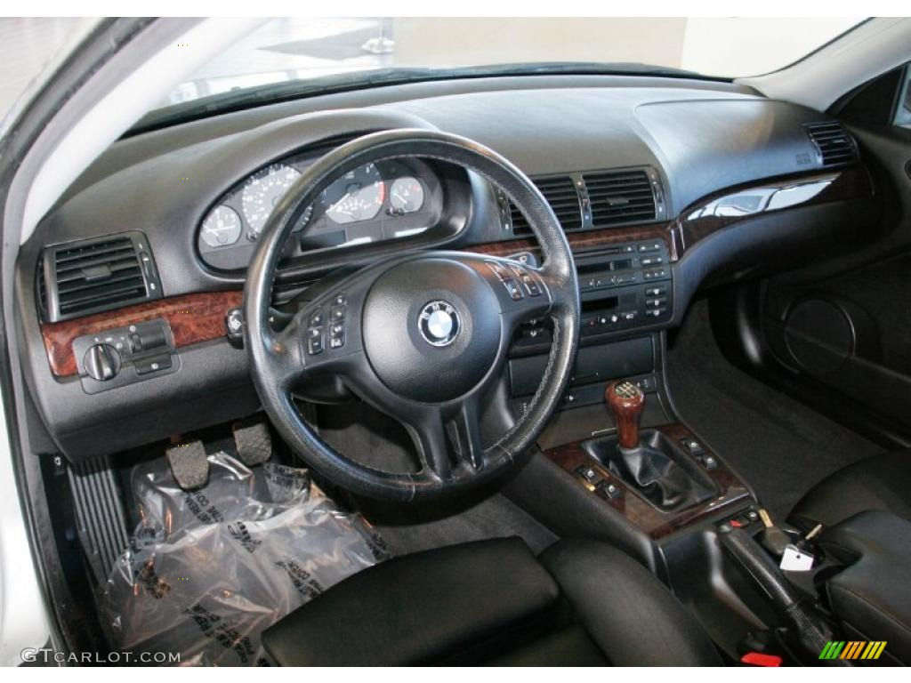 2001 Bmw 3 Series 325i Coupe Black Dashboard Photo 42880488