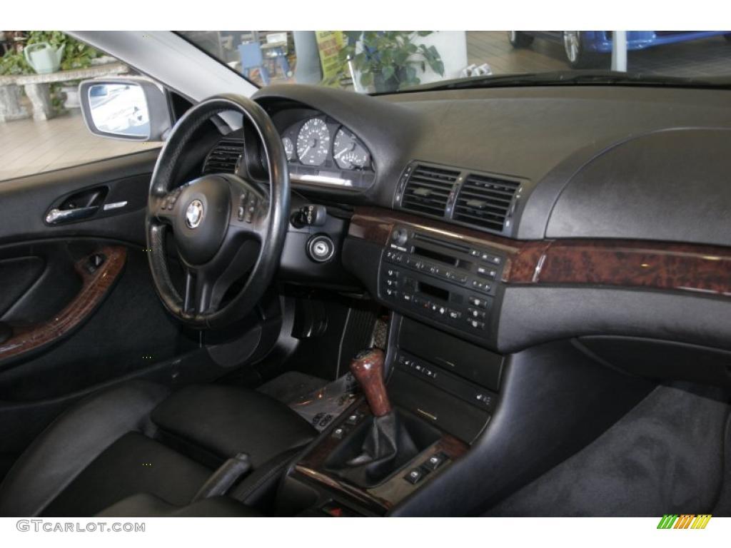 2001 Bmw 3 Series 325i Coupe Black Dashboard Photo 42880532