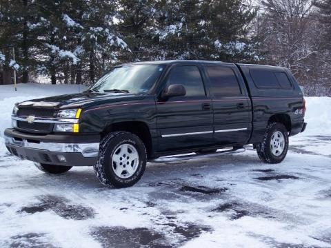 2004 chevrolet silverado 1500 lt crew cab 4x4 data info and specs. Black Bedroom Furniture Sets. Home Design Ideas