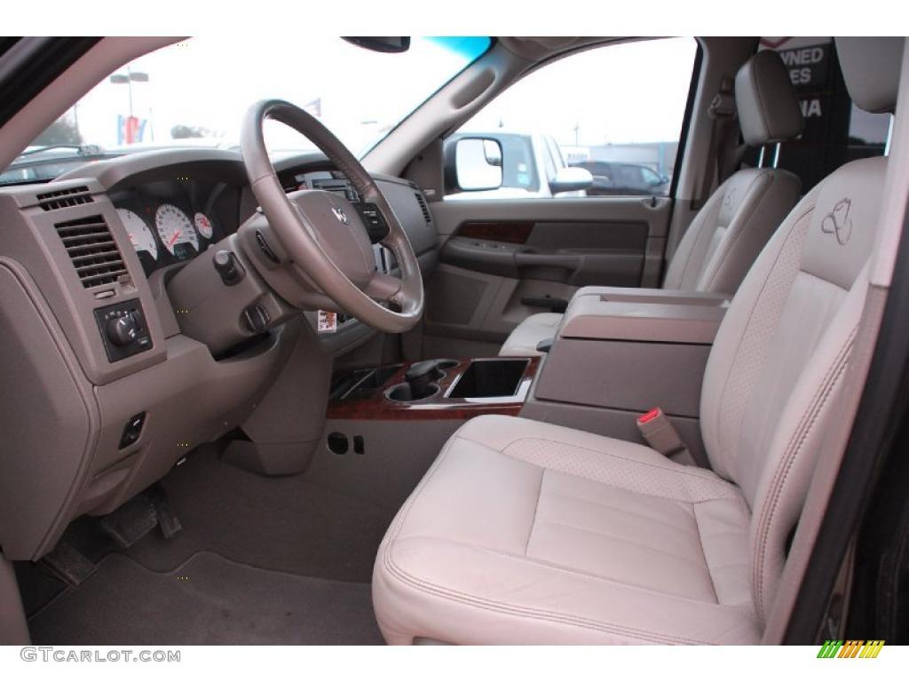 2008 Dodge Ram 3500 Laramie Resistol Mega Cab 4x4 Dually interior Photo #42899571