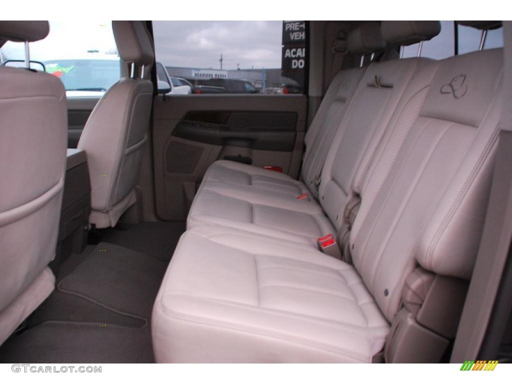 2008 Dodge Ram 3500 Laramie Resistol Mega Cab 4x4 Dually interior Photo #42899601