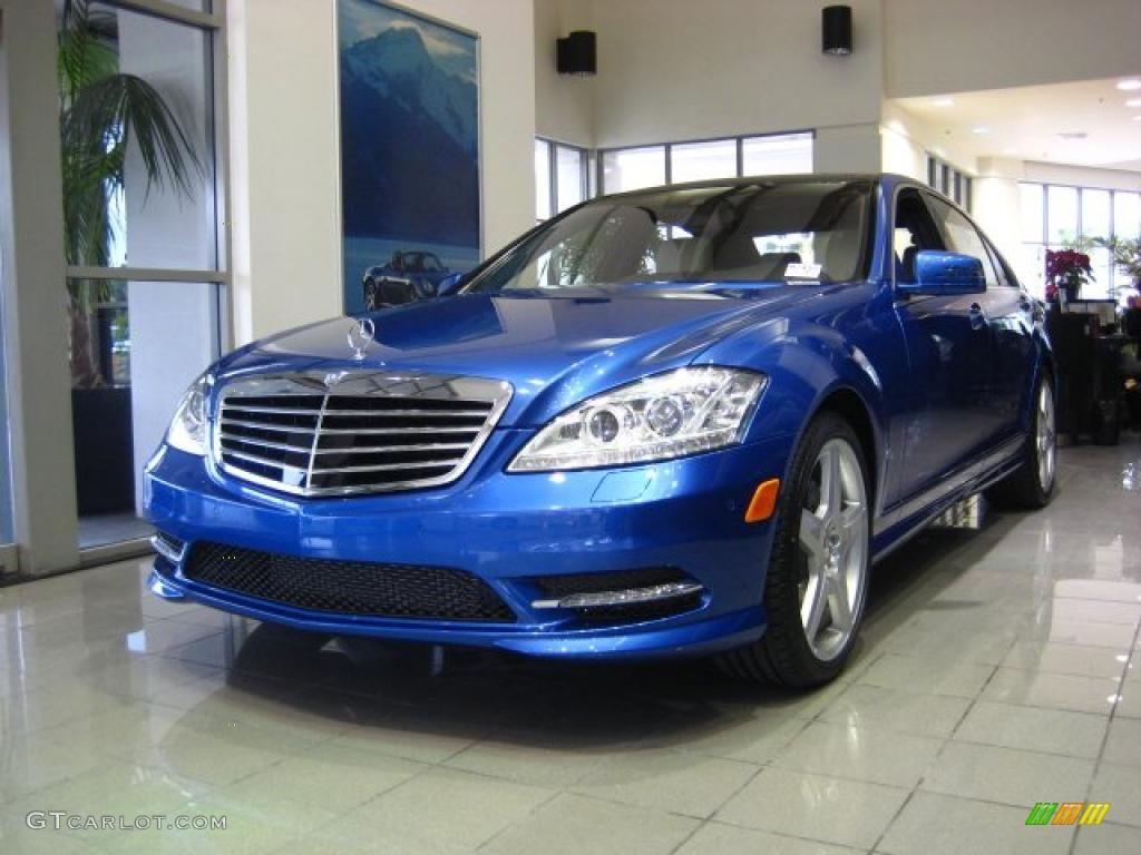 2011 designo mauritius blue mercedes benz s 550 sedan