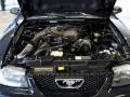 2002 Black Ford Mustang V6 Coupe  photo #15