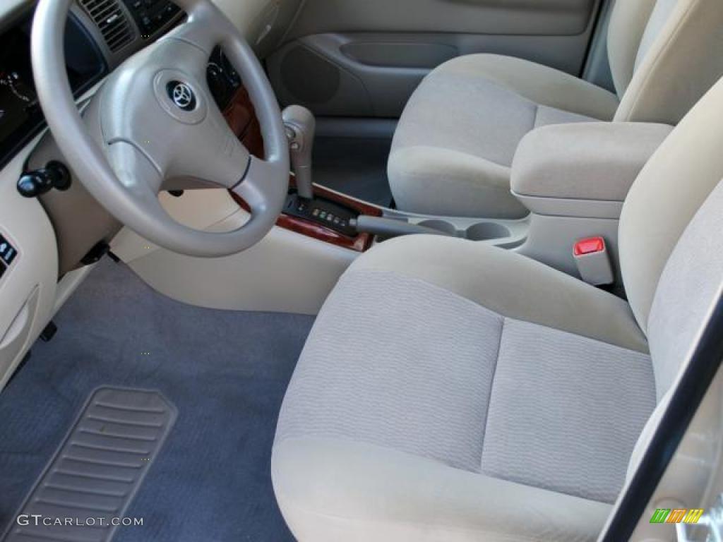 2008 Toyota Corolla Le Interior Photo 42924436