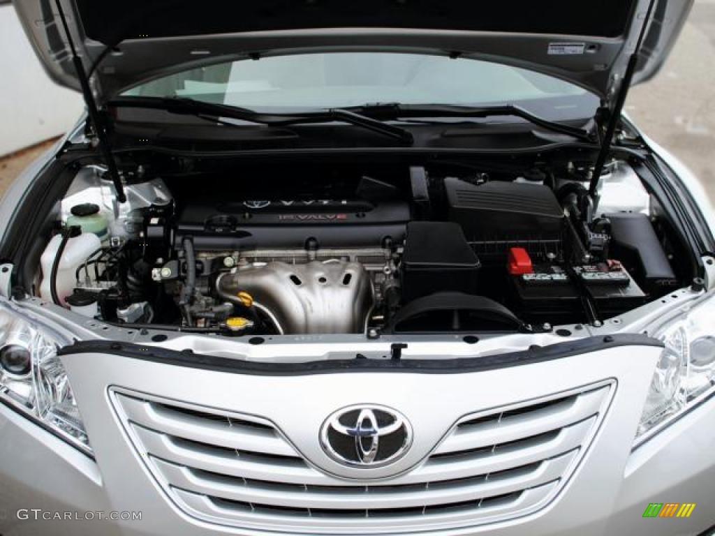 2009 Toyota Camry LE 2.4 Liter DOHC 16-Valve VVT-i 4 ...