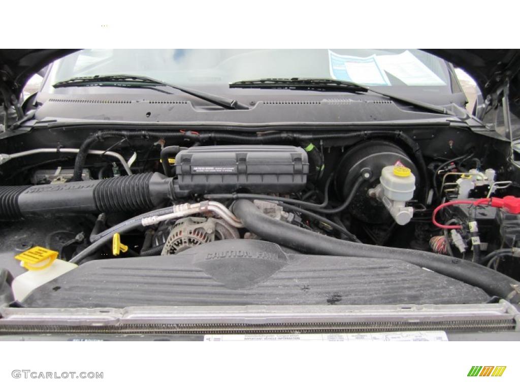 2001 dodge ram 1500 sport club cab 4x4 5 2 liter ohv 16 valve v8 engine photo 42931679. Black Bedroom Furniture Sets. Home Design Ideas