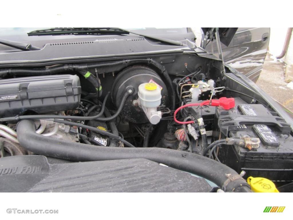 2001 dodge ram 1500 sport club cab 4x4 5 2 liter ohv 16 valve v8 engine photo 42931695. Black Bedroom Furniture Sets. Home Design Ideas