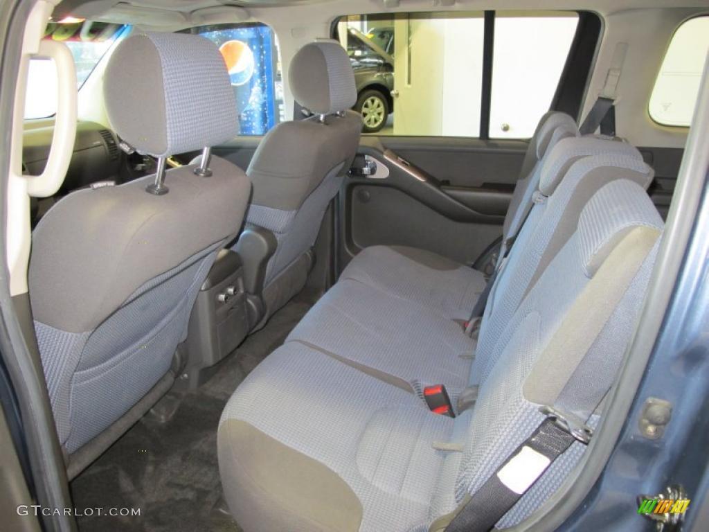 2005 Nissan Pathfinder Se Interior Color Photos