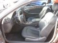 Charcoal 2004 Mercedes-Benz CLK Interiors