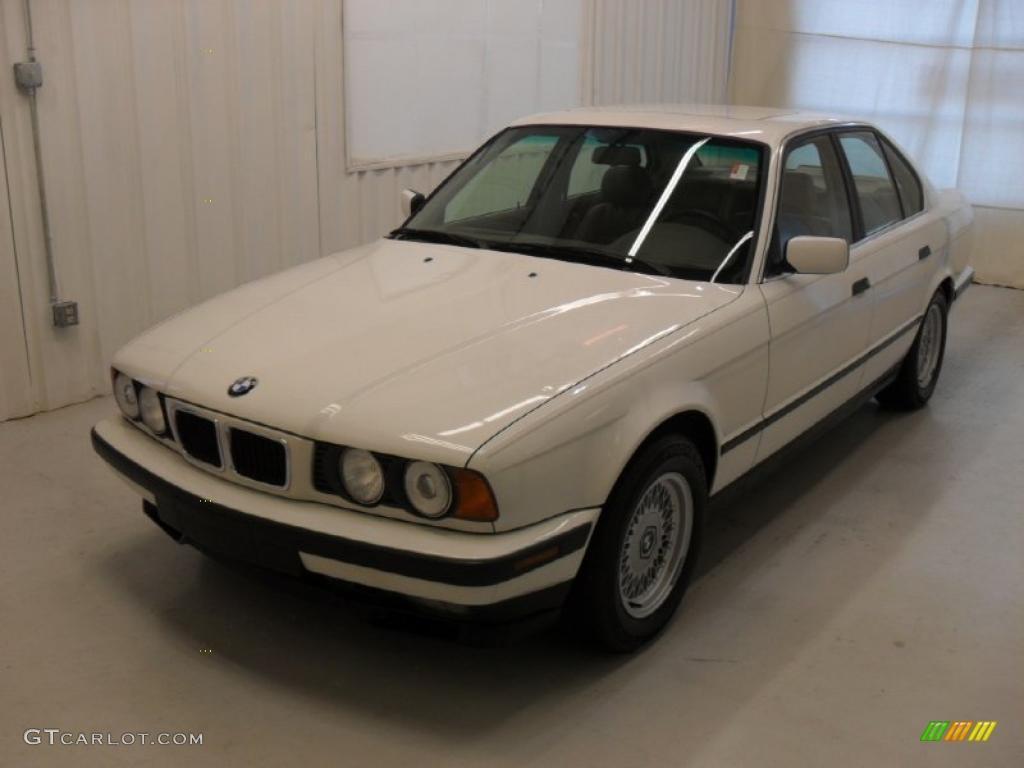 1994 5 series 540i sedan alpine white beige photo 1