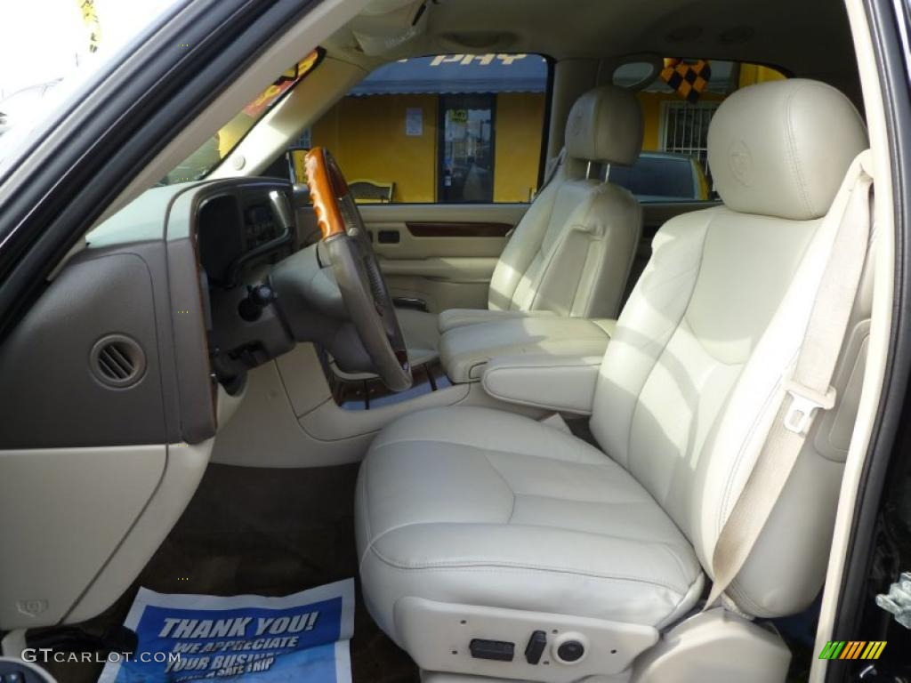 Shale Interior 2004 Cadillac Escalade Standard Escalade Model Photo 42962408