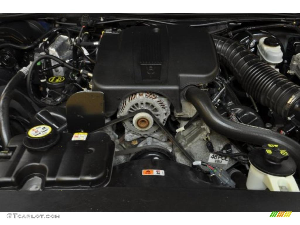 2005 Ford Crown Victoria Police Interceptor 4 6 Liter Sohc 16 Valve V8 Engine Photo 42969821