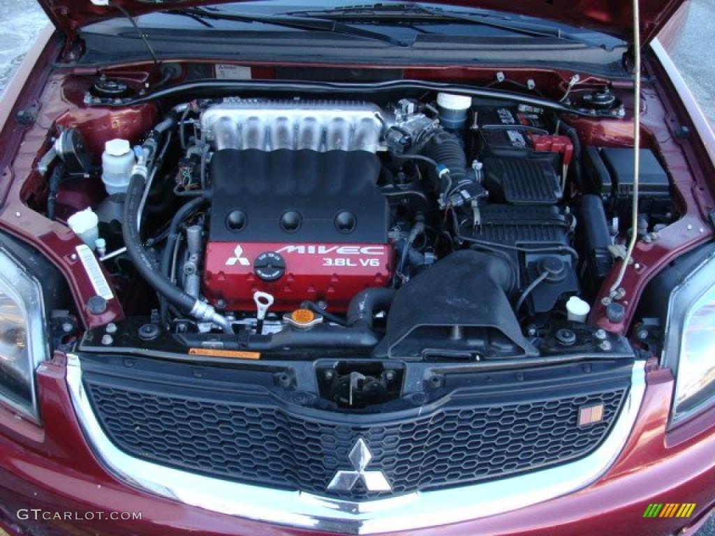 2007 Mitsubishi Galant Ralliart 3 8 Liter Sohc 16 Valve Mivec V6 Engine Photo 43002521