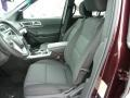 Charcoal Black Interior Photo for 2011 Ford Explorer #43007303