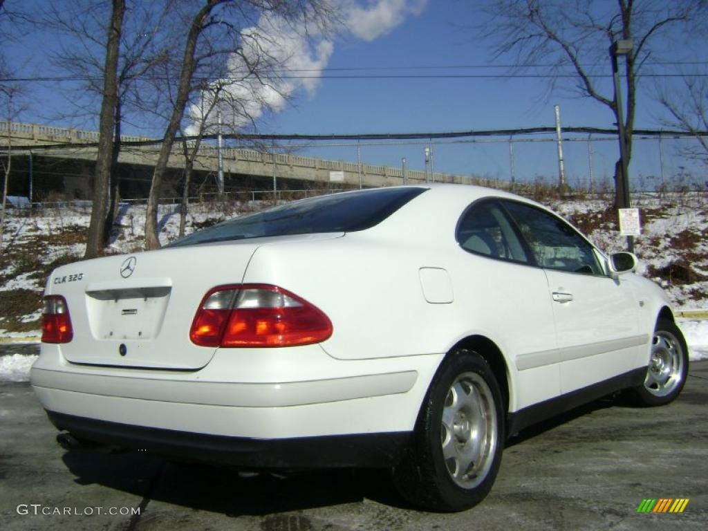 glacier white 1999 mercedes benz clk 320 coupe exterior photo 43019943. Black Bedroom Furniture Sets. Home Design Ideas