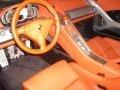 2005 Carrera GT Terracotta Interior