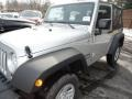 2011 Bright Silver Metallic Jeep Wrangler Sport 4x4  photo #11