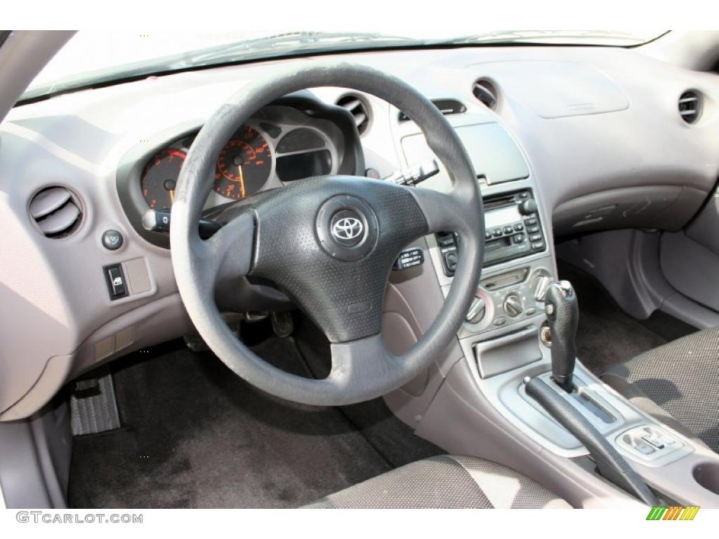 Black/Silver Interior 2001 Toyota Celica GT Photo #43040503
