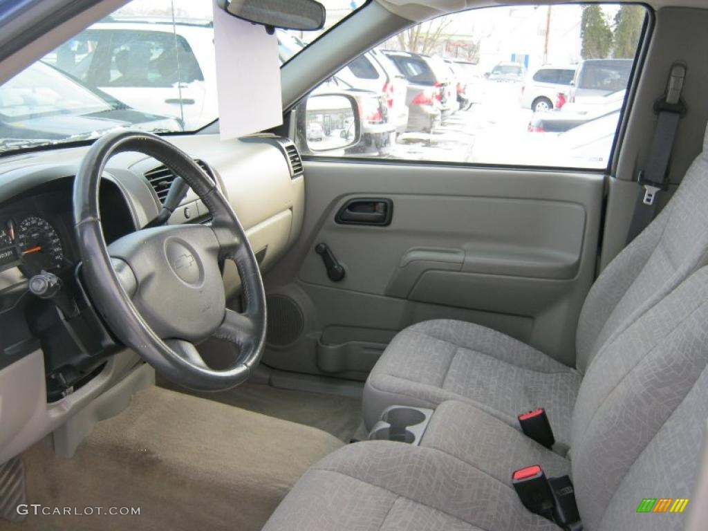 2005 Chevrolet Colorado Ls Regular Cab Interior Photo 43053136