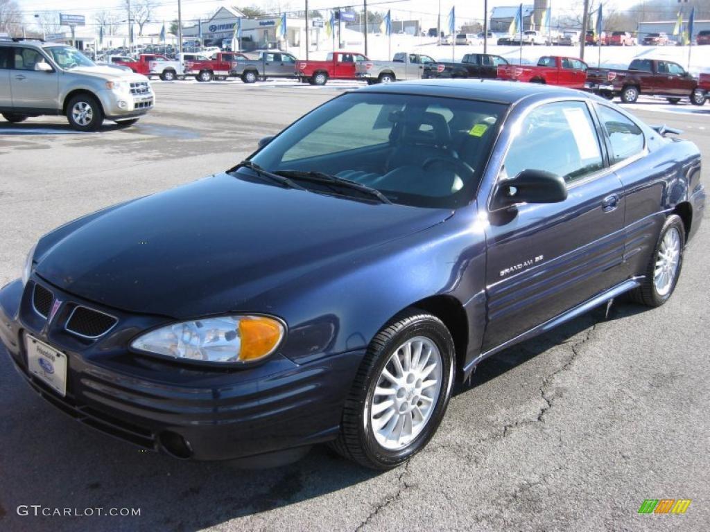 Navy blue metallic 2000 pontiac grand am se coupe exterior photo 43053776 gtcarlot com