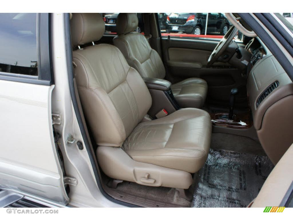2000 Toyota 4runner Limited Interior Photos