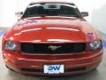 2007 Redfire Metallic Ford Mustang V6 Deluxe Coupe  photo #7
