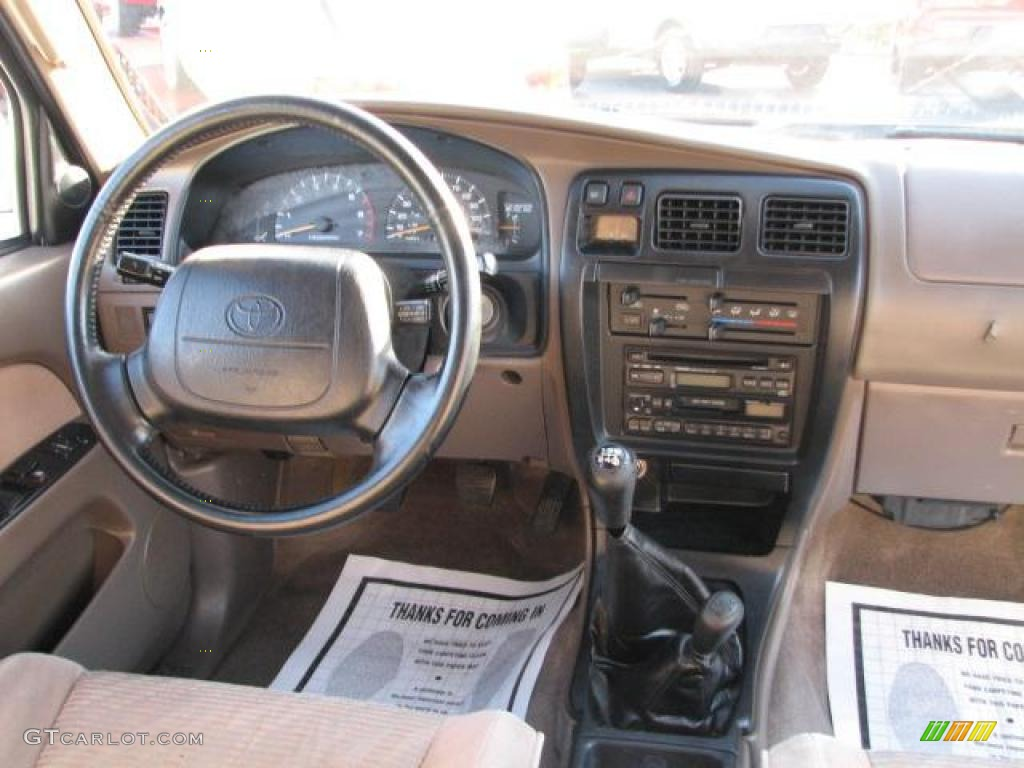 1996 Toyota 4runner Sr5 4x4 Beige Dashboard Photo 43078151 Gtcarlot Com