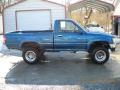 Blue Pearl Metallic 1993 Toyota Pickup Deluxe Regular Cab 4x4