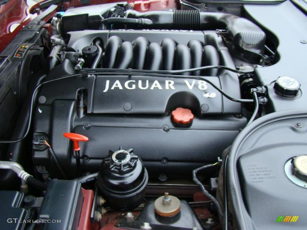 2000 Jaguar Xj Xj8 4 0 Liter Dohc 32 Valve V8 Engine Photo