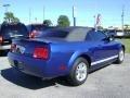 2007 Vista Blue Metallic Ford Mustang V6 Deluxe Convertible  photo #3