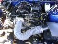 2007 Vista Blue Metallic Ford Mustang V6 Deluxe Convertible  photo #8
