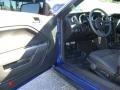 2007 Vista Blue Metallic Ford Mustang V6 Deluxe Convertible  photo #9