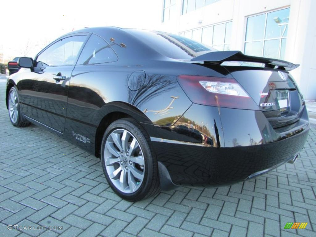crystal black pearl 2009 honda civic si coupe exterior photo 43118453. Black Bedroom Furniture Sets. Home Design Ideas