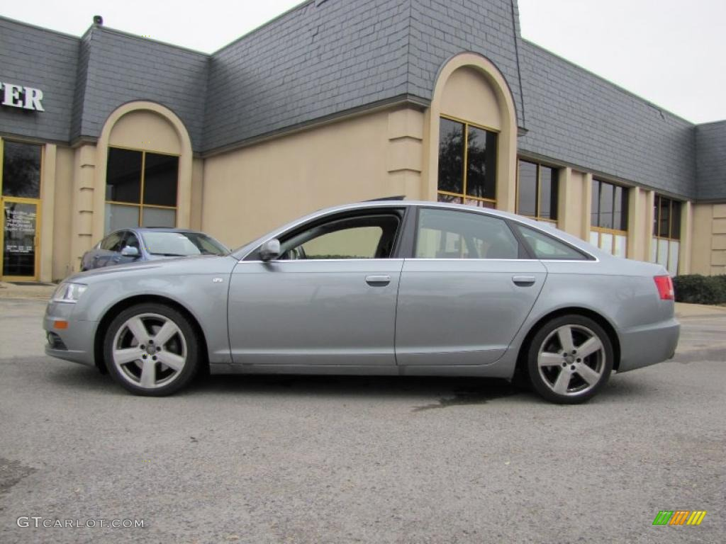 quartz grey metallic 2007 audi a6 3 2 sedan exterior photo. Black Bedroom Furniture Sets. Home Design Ideas